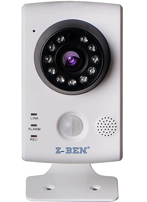 Amazon.com : Z-BEN Wireless Smart Home-IPBH02 H.264 Cube IP Camera with PIR, HD Wi-Fi Camera Micro SD card smart Motion Detection Email Alert IOS/ Android ...