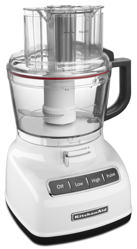 Amazon.com: KitchenAid KFP0933WH 9 Cup Food Processor With Exact Slice  System   White: Kitchen U0026 Dining