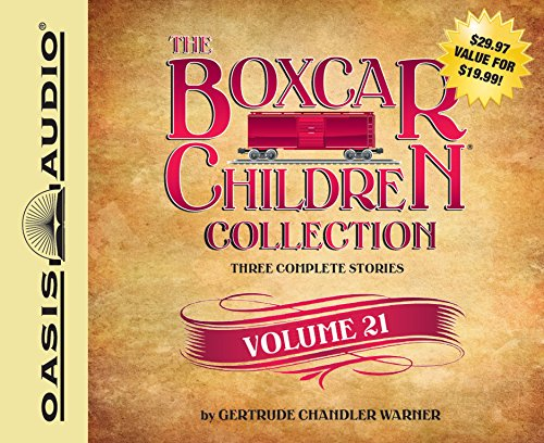 The Boxcar Children Collection Volume 21: The Growling Bear Mystery, The Mystery of the Lake Monster, The Mystery at Peacock Hall