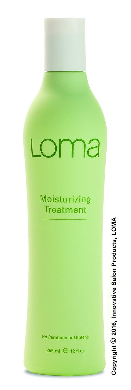 Loma Hair Care Moisturizing Treatment, Vanilla Bean/Orange, 12 Fl Oz
