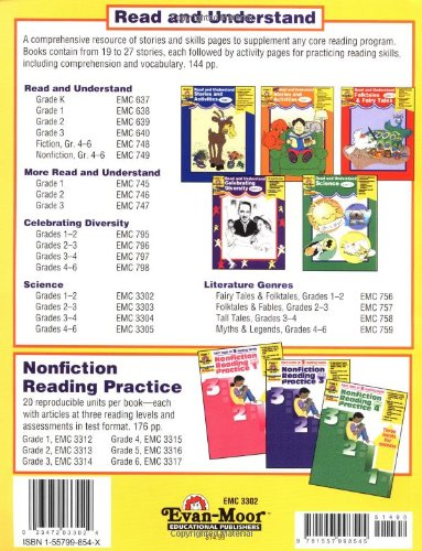 Amazon com: Read and Understand Science, Grades 1-2