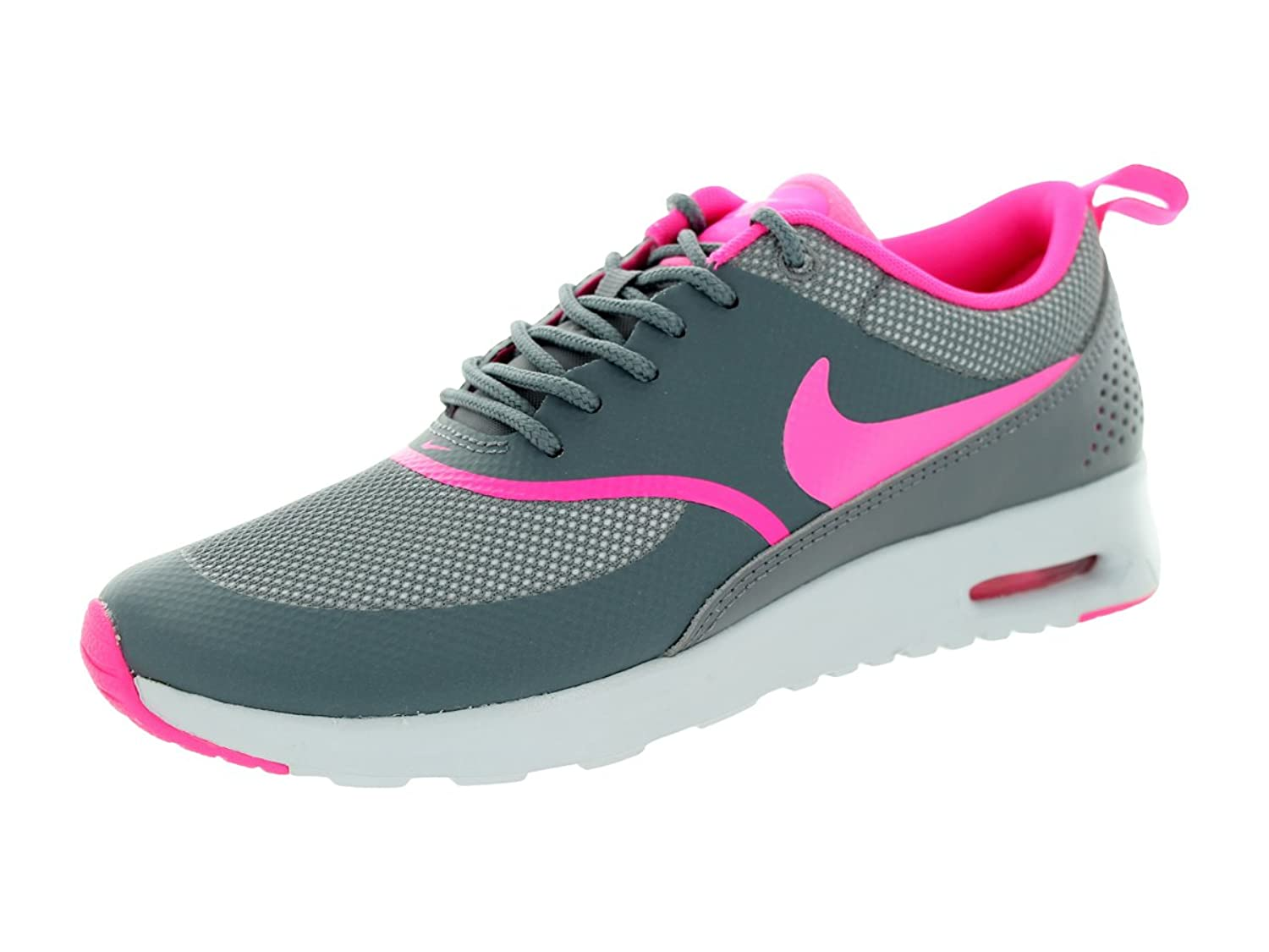 new arrival 968ad 584d6 Nike Womens Air Max Thea Running Shoe Cool Grey Pure Platinum Pink Pow 6.5