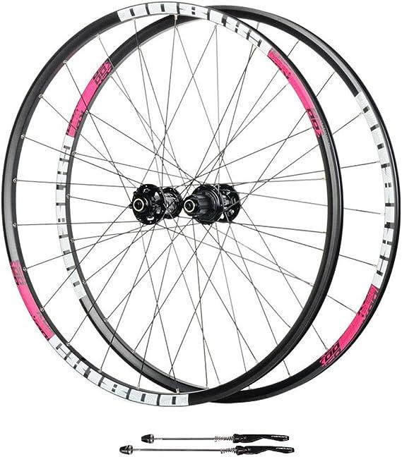 AIFCX Los Juegos de Ruedas de Bicicletas 700C, de Doble Pared de ...
