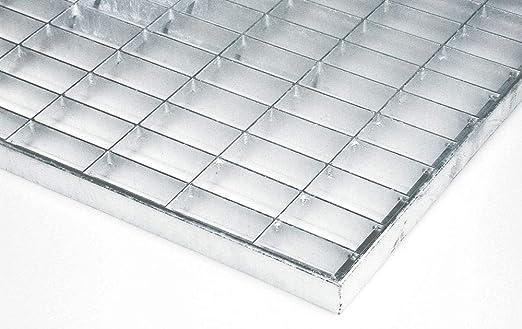 ID Mate 4060//_ L Rejilla Metal Alfombra Felpudo Acero galvanizado Gris 60/x 40/x 2/cm