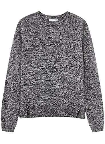 meters-bonwe-womens-classic-solid-round-neck-side-slit-pullover-sweater-black-m