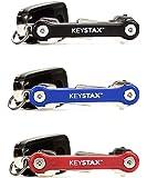 キースタックス KeyStax コンパクト キーホルダー キー収納 ツール 国内正規品 日本語説明書付属 (ブルー)