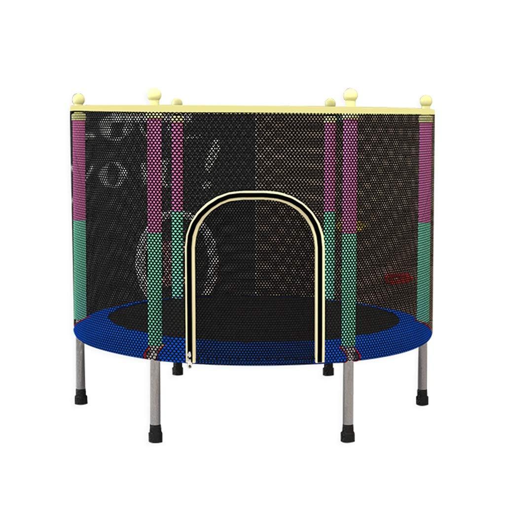 Indoortrampoline Trampoline Home Kinder Indoor Bounce Bett Kindertrampolin Kinderspielzeug Geschenke für Kinder (Größe : 140x140x120cm)