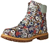 Timberland Womens Icon Timberland Fabric Boot,Light Green/Floral Canvas,US 11 M