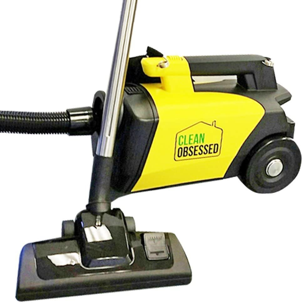 Clean Obsessed Commercial Lightweight Portable Canister Vacuum; Model CO711