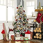 Best-Choice-Products-Pre-Lit-Snow-Flocked-Christmas-Tree