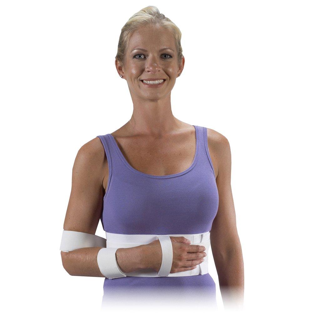 Bilt-Rite Mastex Health Shoulder Immobilizer, White, X-Large