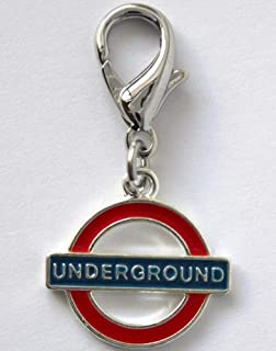 product image for Diva-Dog 'London Underground' Dog Collar Charm