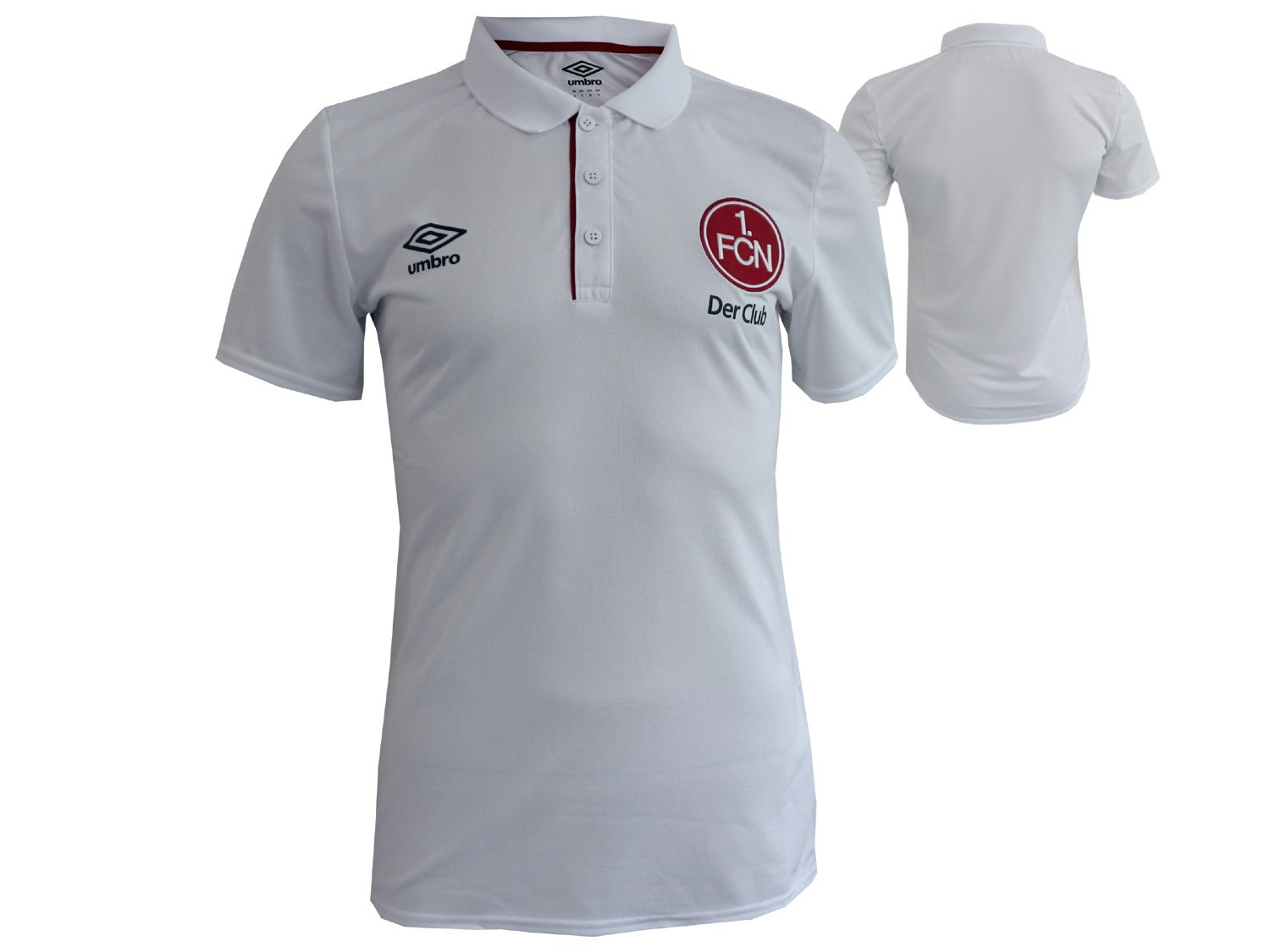 Umbro FC Nurnberg Training Poly Polo Shirt (U) T