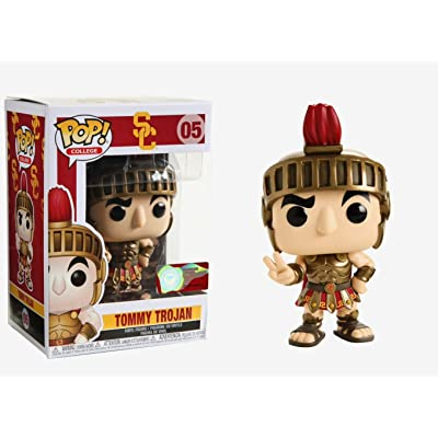 Funko College USC POP Tommy Trojan Home Armor Vinyl Figure: Toys & Games