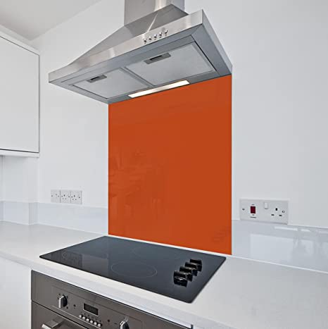 Terracotta da cucina in vetro Splashback by COLOUR2GLASS - 6 ...