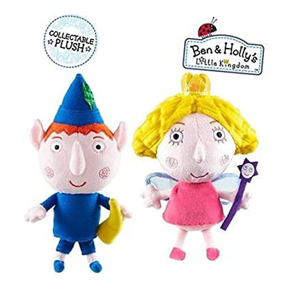Amazon.com: Juguetes de suave felpa Ben & Holly s ...