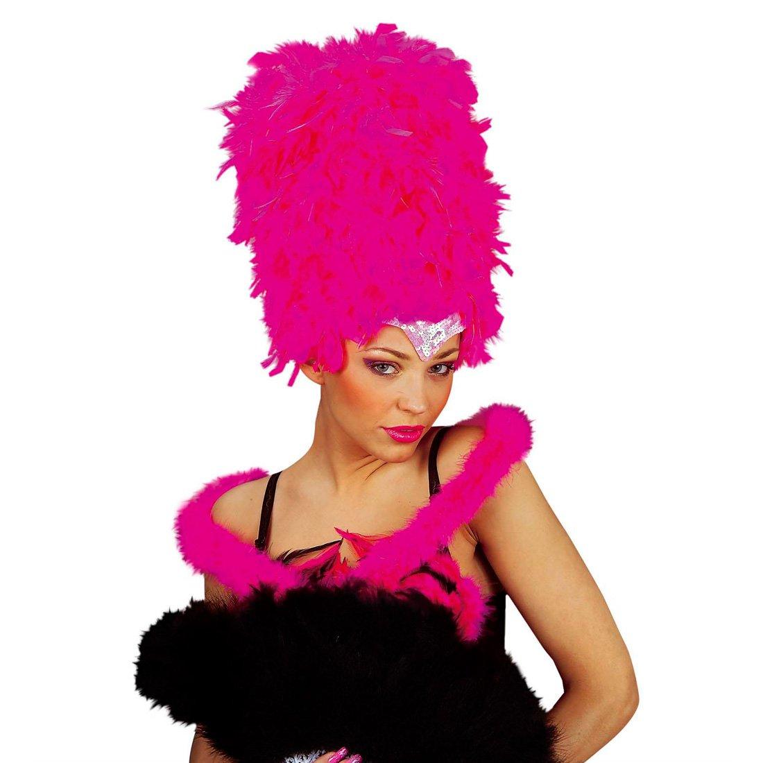 Kleidung & Accessoires Mafia Federboa Marabu Federschal schwarz 2 m Marabou Federstola Burlesque Boa