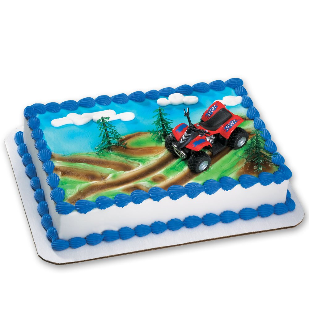 Amazon Atv Decoset Cake Decoration Toys Games