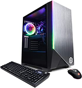 CyberpowerPC Gamer Xtreme Desktop Computer, Intel Core i7-9700K 3.6GHz, 16GB RAM, 1TB SSD, NVIDIA GeForce RTX 2060 6GB, Windows 10 Home