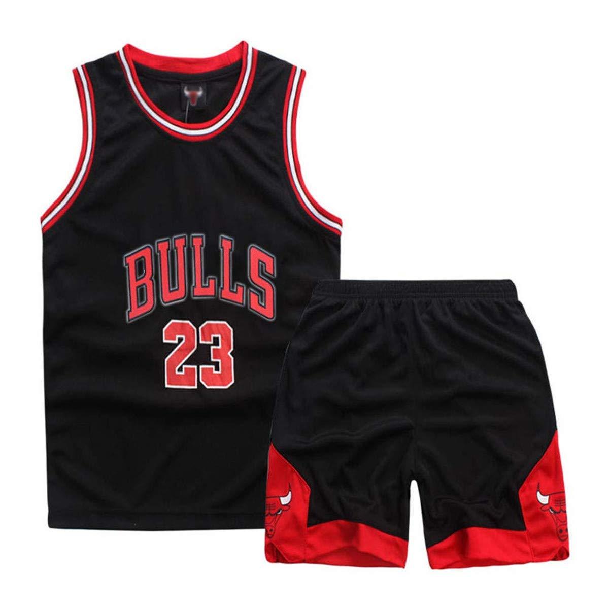 Nino Nino Nba Michael Jordan 23 Chicago Bulls Retro Pantalones Cortos De Baloncesto Camisetas De Verano Uniformes Y Tops De Baloncesto Deportes Y Aire Libre Grupobrtelecom Com Br