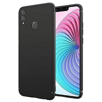 Bennald Huawei Honor 8 X Case, Thin Ultra Slim Fit Matte Finish Flexible Tpu Phone Case Cover Compatible Huawei Honor 8 X   Black by Bennald