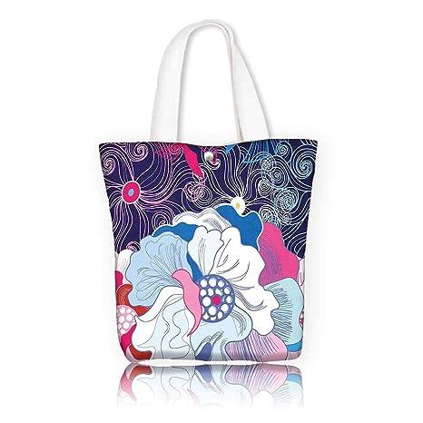 dd3e0ef986b4 Amazon.com: Tote Bag Shoulder Bag -W15 x H14 x D4.7 INCH/Shopping ...