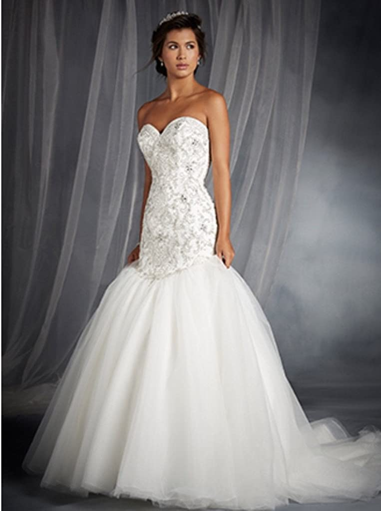 Alfred Angelo 249 Wedding Gown At Amazon Women S Clothing Store