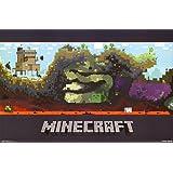 1art1 66122 Minecraft Poster - Unterwelt, 91 x 61 cm
