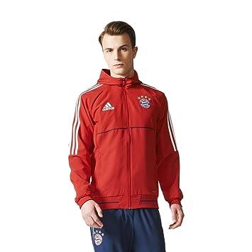 adidas Herren Präsentationsjacke FC Bayern München