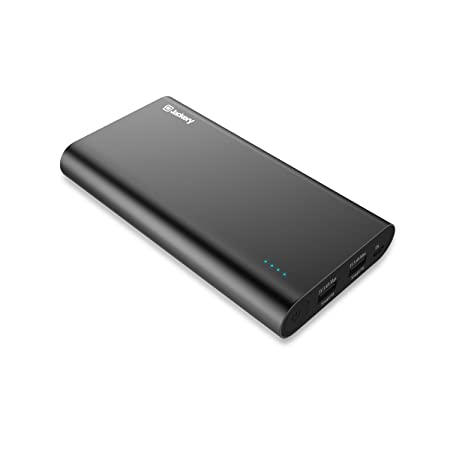 Jackery Titan Premium 20100mAh Power Bank Dual USB 3 4A Output Portable  Travel Charger External Battery Pack for iPhone X/ 8/7/6s, iPad, Samsung  and