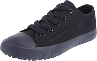 safeTstep Slip Resistant Women's Kick Canvas Oxford