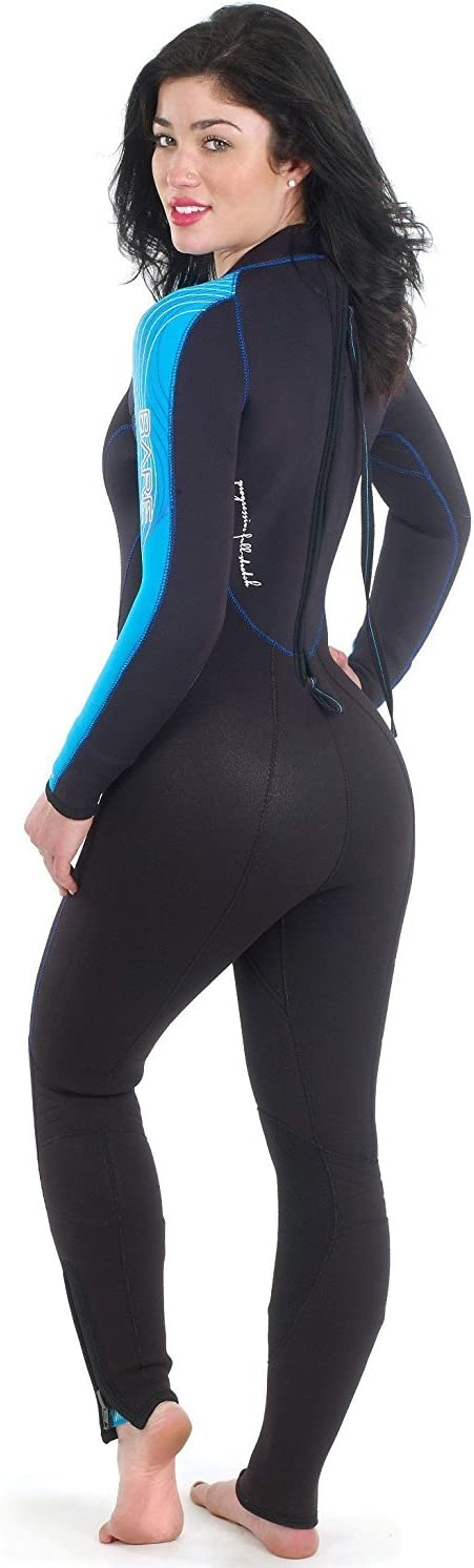 Bare Velocity 7mm Full Suit Super-Stretch Wetsuit, Women s
