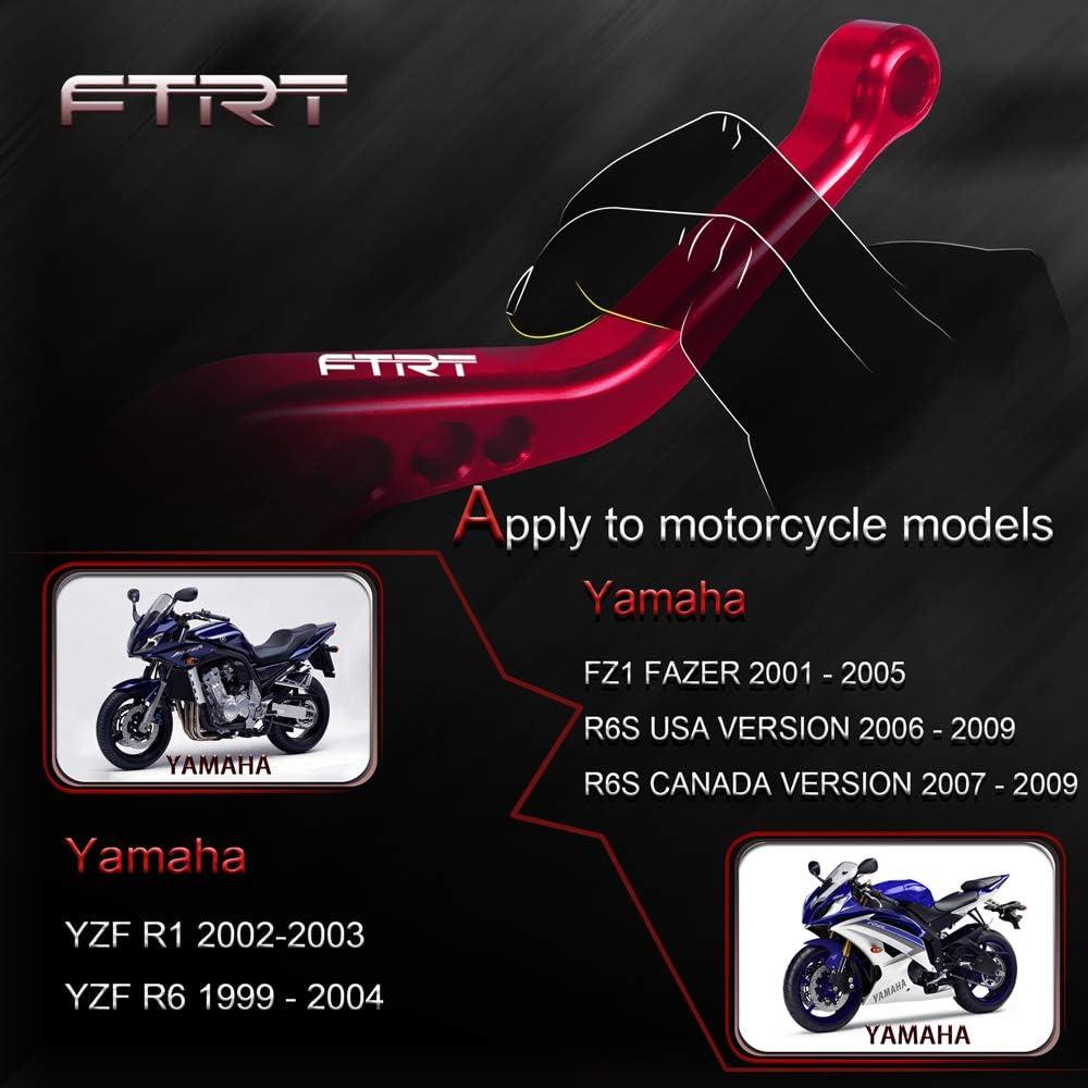 Flameer 2 Pair Motorcycle Brake//Clutch Lever Sleeves Nonslip Hand Grips Blue+Red