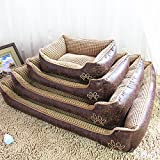 Reversible Vintage Dog Bed for Small to Large - Best Reviews Guide