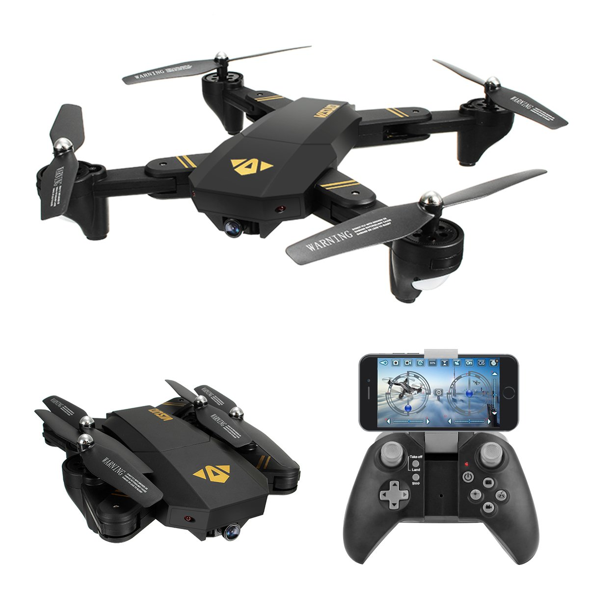 REALACC XS809HW Quadcopter Drone