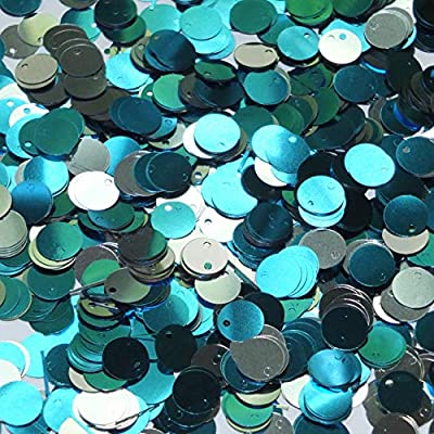 8mm Sequins Silver Metallic Made in USA