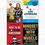 img - for Girl wash your face[hardcover], life leverage, how to be f*cking awesome, mindset with muscle 4 books collection set book / textbook / text book