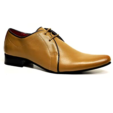 cf81f850d MENS PIERRE CARDIN LEATHER SHOES ITALIAN FORMAL OFFICE SMART WEDDING LACE  UP SHOES SIZE 7 - 12  Amazon.co.uk  Shoes   Bags