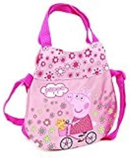 Peppa Pig borsetta due manici e tracolla