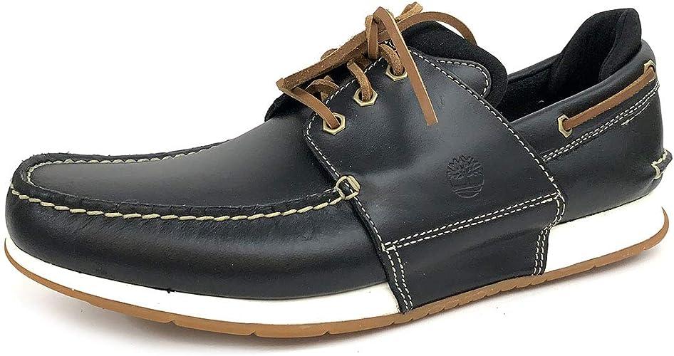 Chaussures Pleine Fleur en Heger Timberland Bay Bateau Cuir 35LA4Rjq