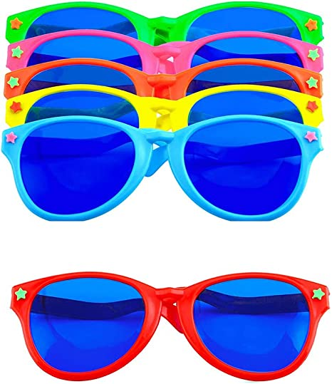 Jumbo Glasses Joke Sunglasses Fancy Dress Costume Party Fun Photo Booth Prop