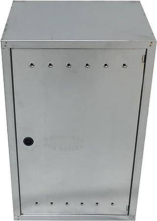 Einside - Caja de chapa de acero galvanizado para contador de gas ...