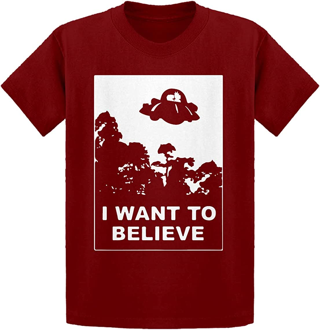 Morty Kids T-Shirt Indica Plateau I Want to Believe