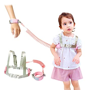 keep your child safe when going out walking Child Wrist Link Multi-coloured