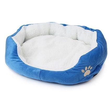 T-MEKA New Arrival de Leopardo Cómodo Mascotas Cama para Perros y Gatos Mascotas Cachorro