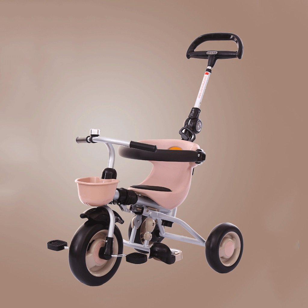 子供のTricycle折りたたみ軽量ベビー自転車1 – 6 Years Old Babyベビーカー自転車、ブラウン、7346106 CM B07C69K4BQ