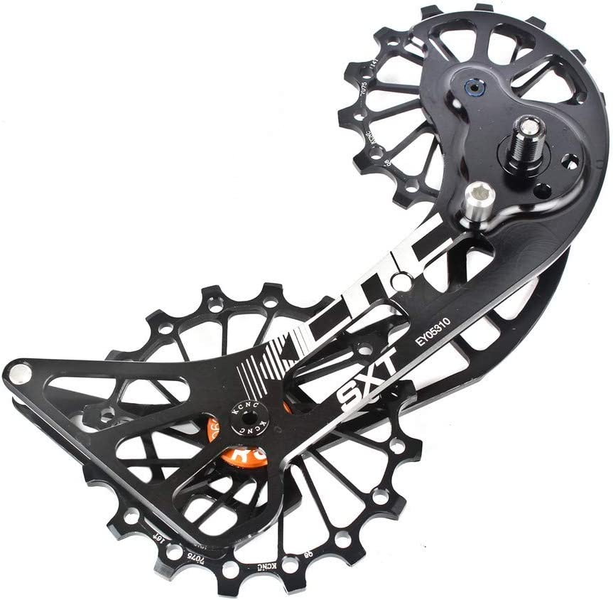 KCNC SXT MTB Cycling Bike Oversized Pulley Cage for XTR M9000//XT M8000 Red