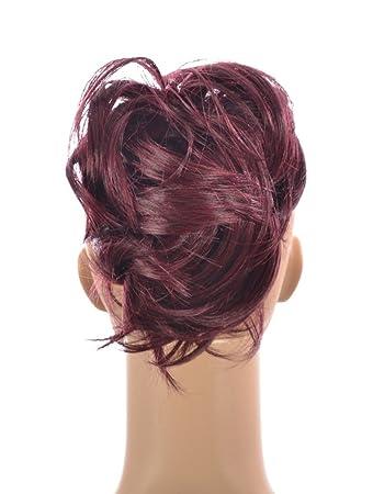 Awe Inspiring Amazon Com Damson Plum Pony Crop Ponytail Hairpiece Cute Clip Short Hairstyles For Black Women Fulllsitofus