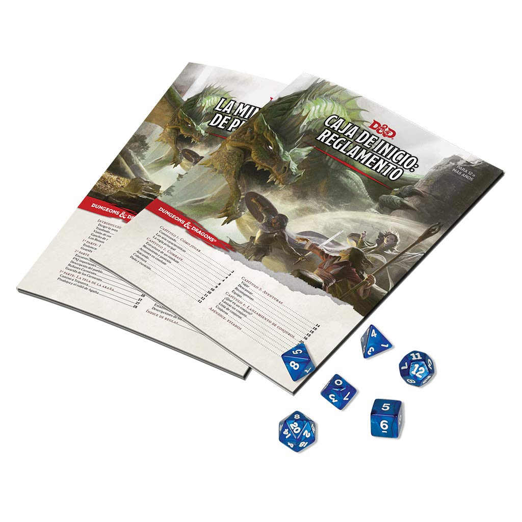 Dungeons & Dragons- Caja de Inicio-español, Color (Edge Entertainment EEWCDD00)