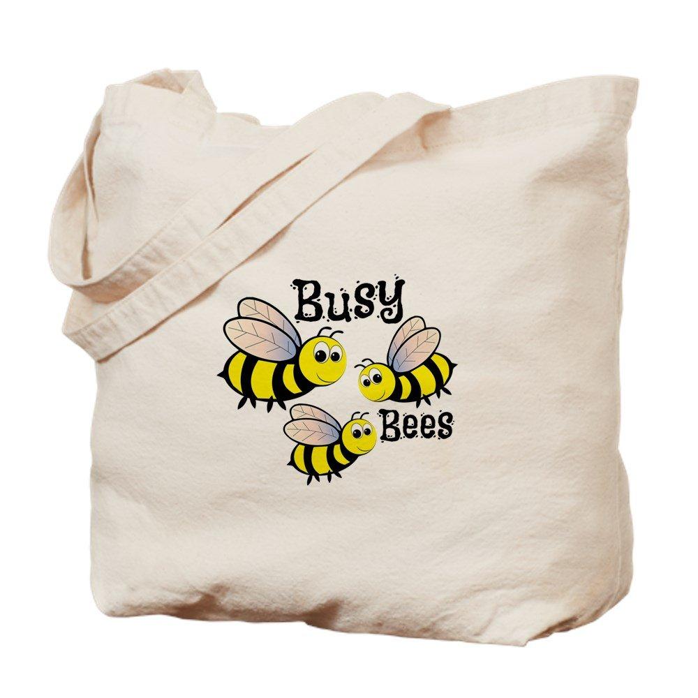 CafePress – Busy Bees – ナチュラルキャンバストートバッグ、布ショッピングバッグ B01LIRR8XU